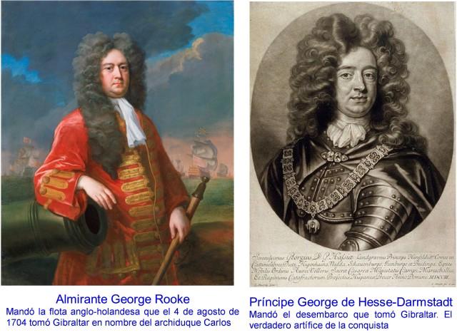 ALMIRANTE GEORGE ROOK Y PRINCIPE GEORGE DE HESSE-DARMSTADT