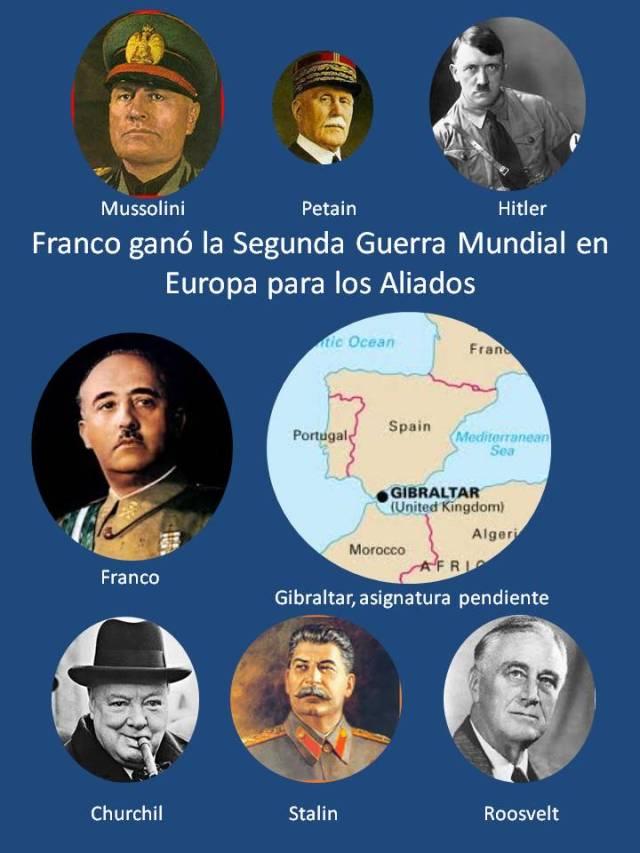 FRANCO (POWERPOINT)  FRENTE AL EJE Y LOS ALIADOS