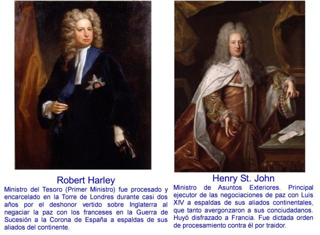 ROBERT HARLEY Y HENRY ST